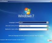 Windows 7 instaliavimas