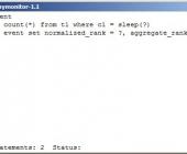 MySQL užklausų stebėjimo programėlė